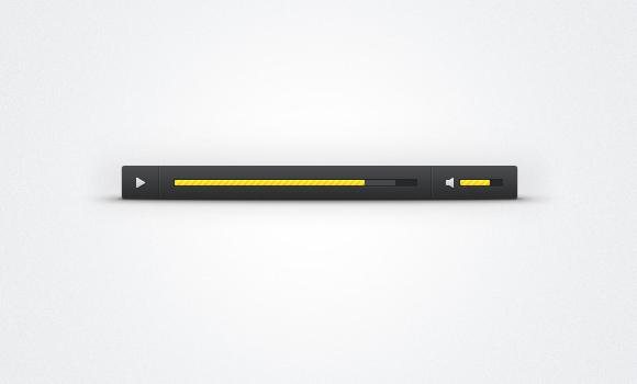 Custom-Audio-Player-Skin-PSD